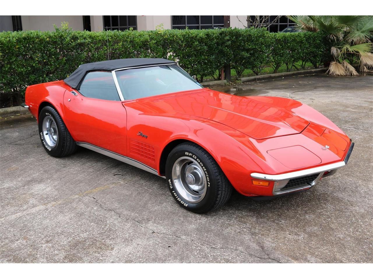 1970 Corvette For Sale >> For Sale 1970 Chevrolet Corvette In Conroe Texas