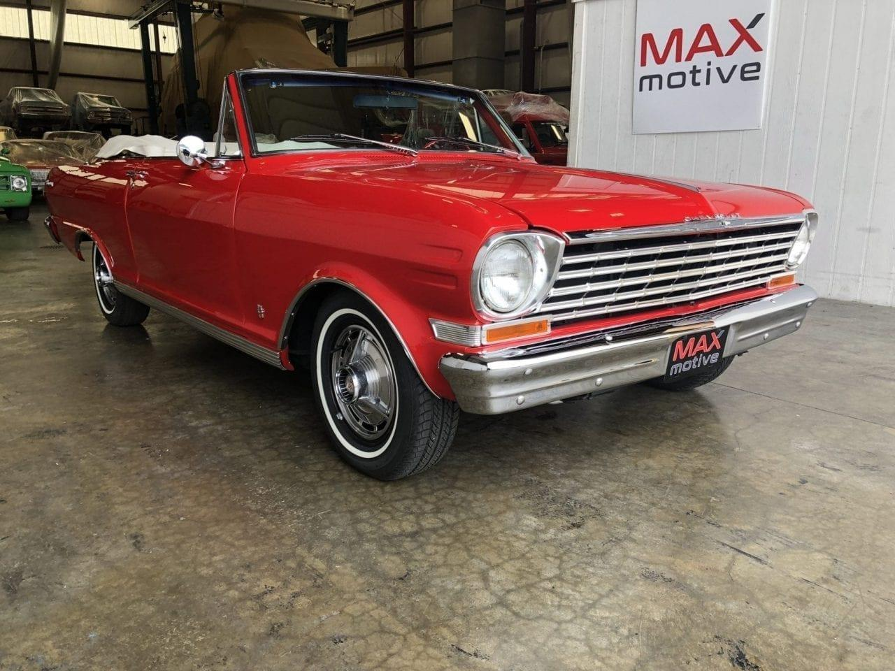 Large Picture of '63 Chevrolet Nova located in Pittsburgh Pennsylvania Offered by MAXmotive - PCSX