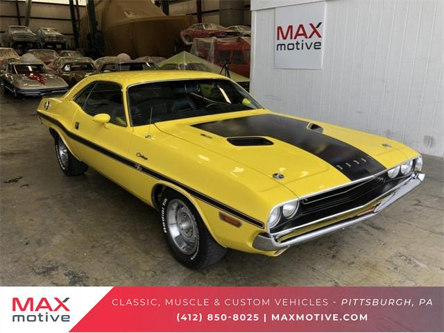 1970 Dodge Challenger For Sale On Classiccars Com
