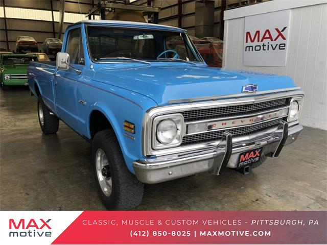 Picture of '69 Chevrolet C20 located in Pittsburgh Pennsylvania - $32,350.00 - PCTS