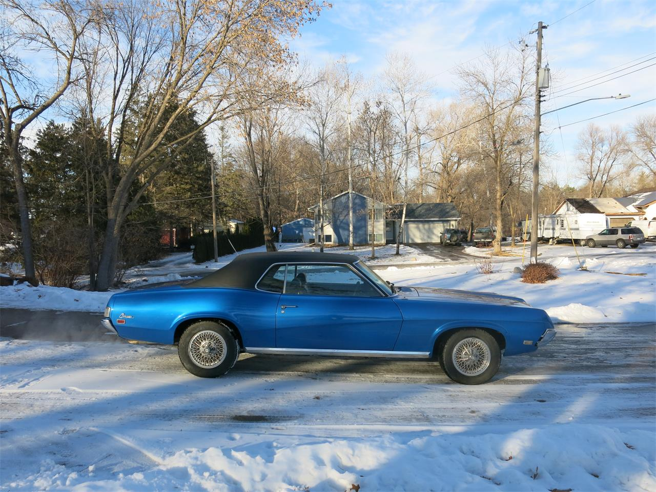 Large Picture of Classic 1969 Mercury Cougar located in Forest Lake Minnesota - PCVR