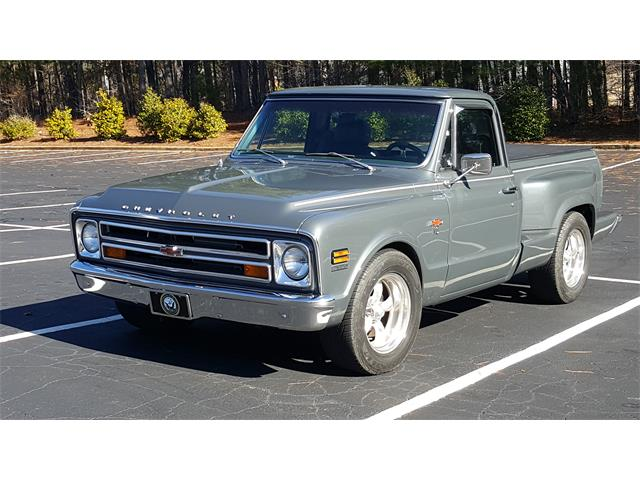 1968 chevrolet c10 for sale on. Black Bedroom Furniture Sets. Home Design Ideas