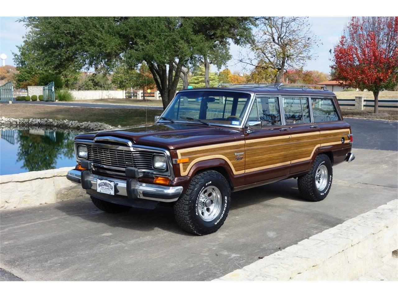 Jeep Wagoneer For Sale >> 1983 Jeep Wagoneer For Sale Classiccars Com Cc 1183400