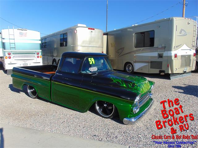 Picture of '59 Chevrolet Apache located in Arizona - $36,900.00 Offered by  - PDDI