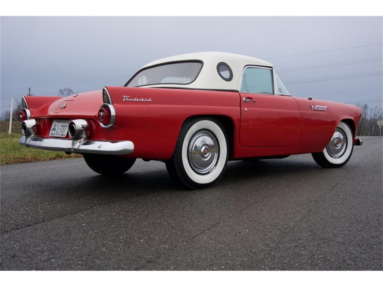 Large Picture of '55 Thunderbird located in Greensboro North Carolina Auction Vehicle Offered by GAA Classic Cars Auctions - PDHS