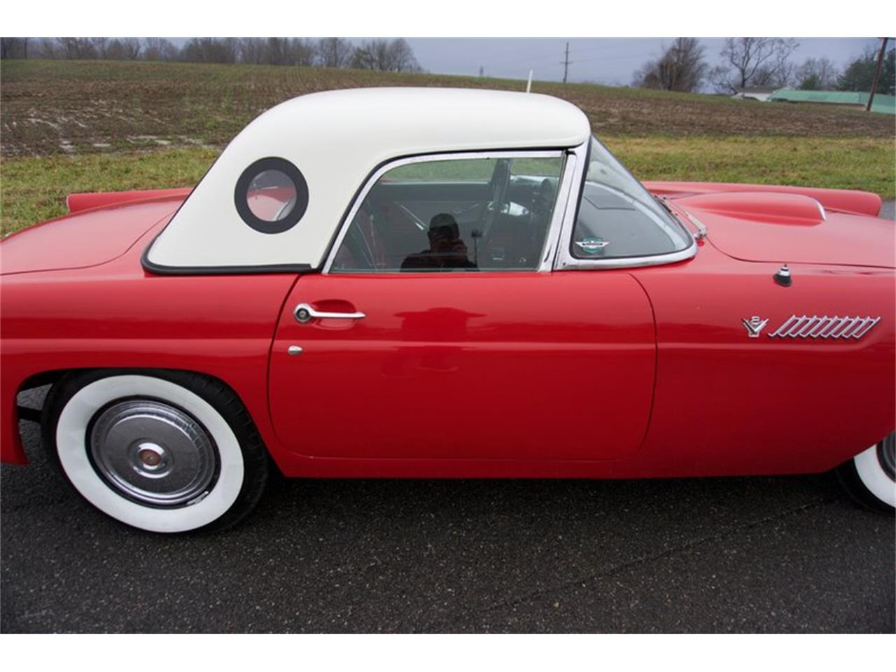 Large Picture of Classic 1955 Ford Thunderbird Offered by GAA Classic Cars Auctions - PDHS