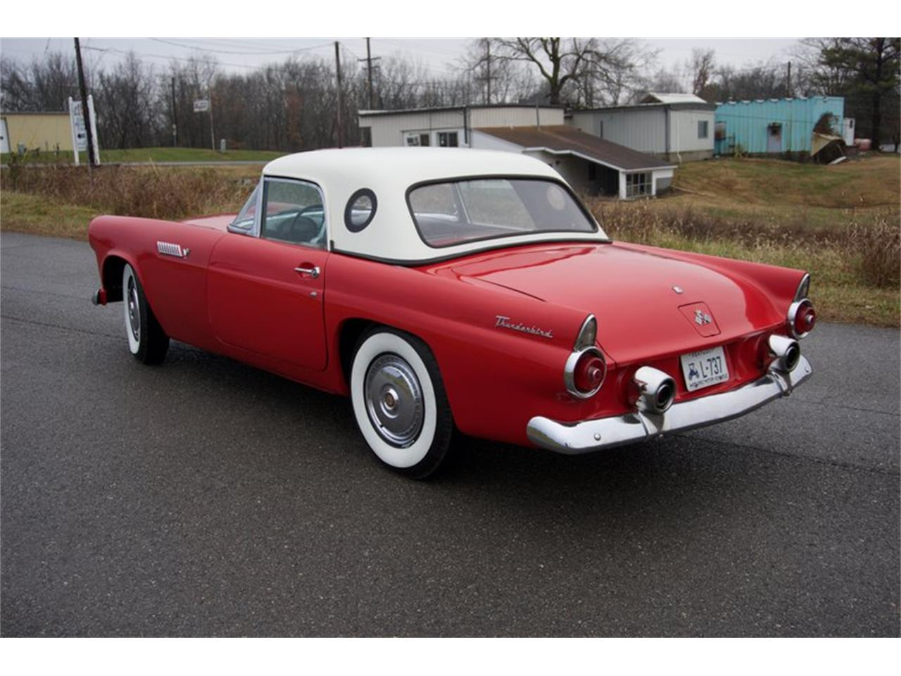 Large Picture of 1955 Ford Thunderbird located in Greensboro North Carolina - PDHS