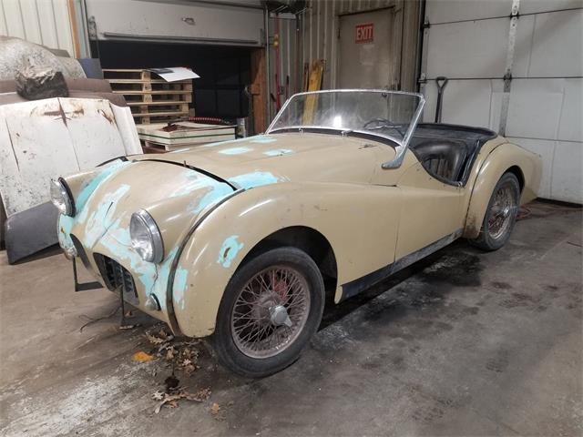 Picture of Classic 1957 Triumph TR3 located in Minnesota - $2,750.00 Offered by  - PDNV
