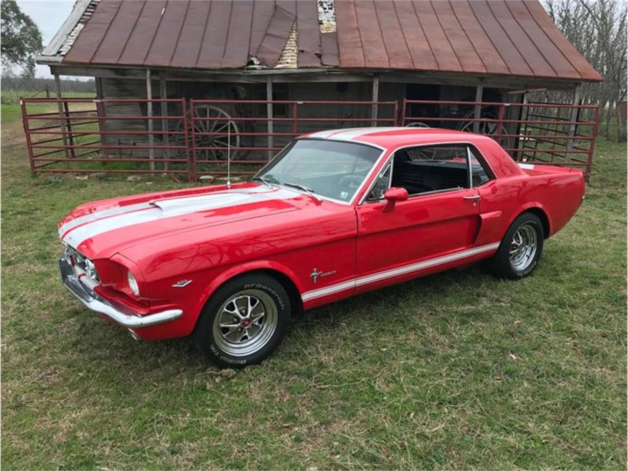 Large Picture of '66 Mustang - PDPA