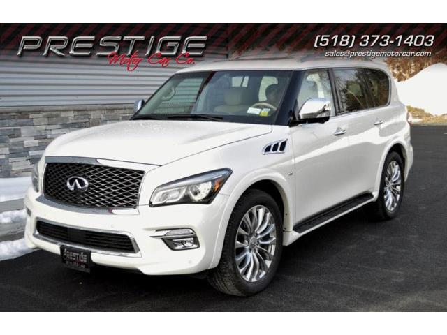 Picture of 2015 QX80 located in Clifton Park New York Offered by  - PDPF