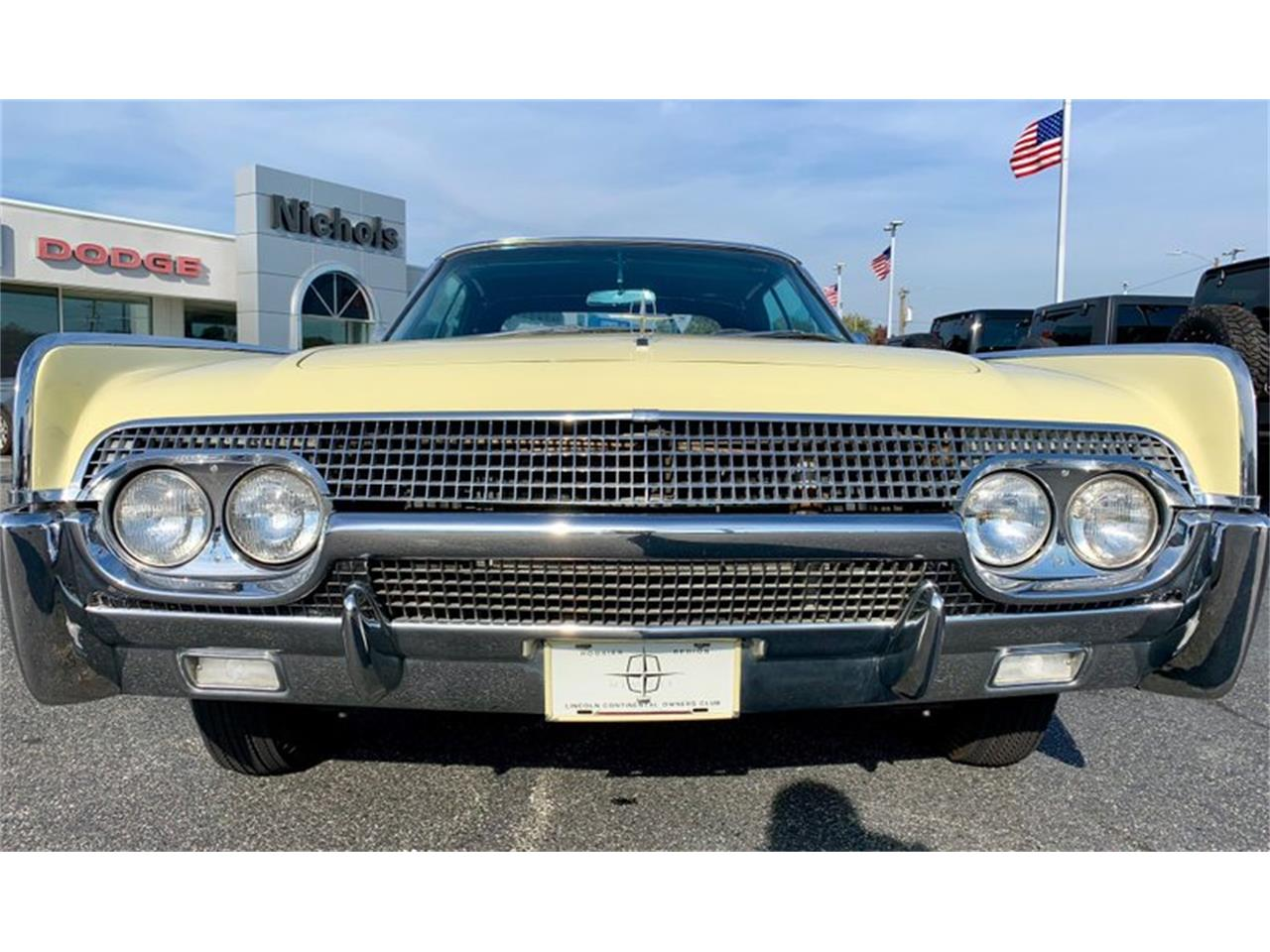 Large Picture of Classic 1961 Lincoln Continental located in North Carolina Auction Vehicle Offered by GAA Classic Cars Auctions - PATF
