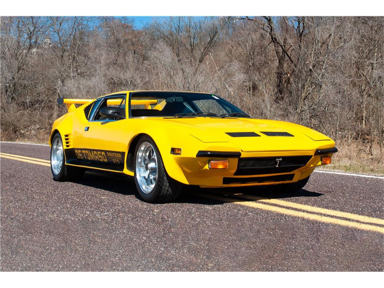 Large Picture of 1973 De Tomaso Pantera Offered by EG Auctions - PDVG