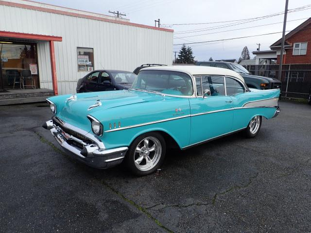 Picture of '57 Chevrolet Bel Air located in Tacoma Washington - $59,990.00 Offered by  - PE2F