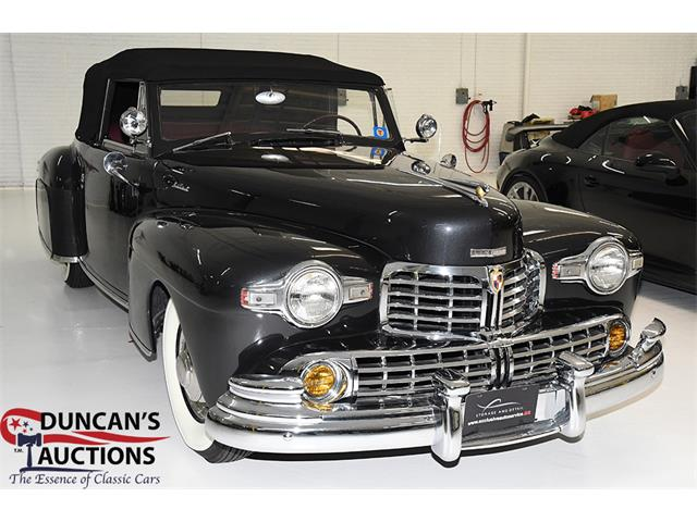 Picture of Classic '47 Lincoln Convertible located in Texas Auction Vehicle - PECT