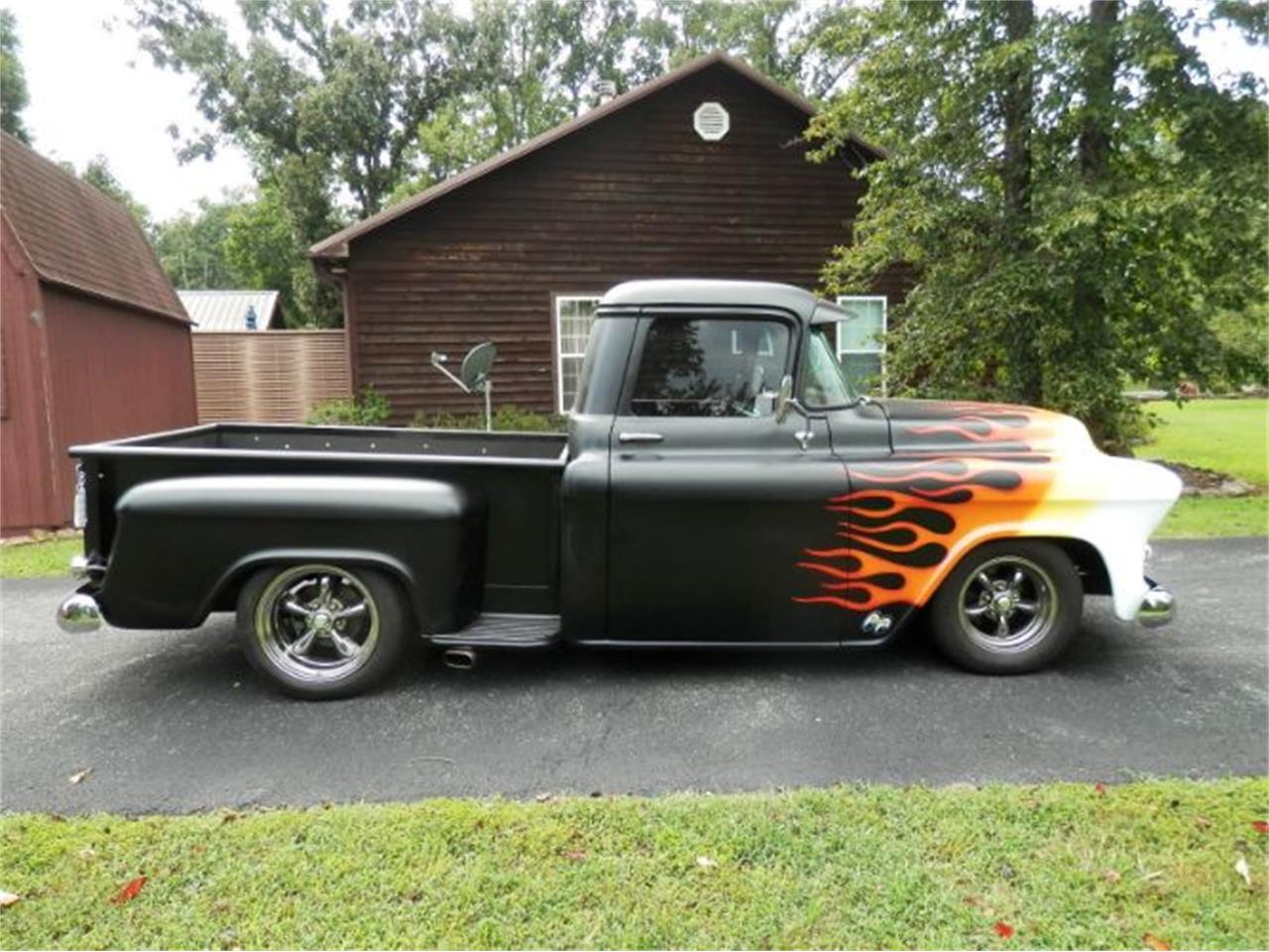 Large Picture of 1956 Chevrolet Custom located in Cadillac Michigan Offered by Classic Car Deals - PEES