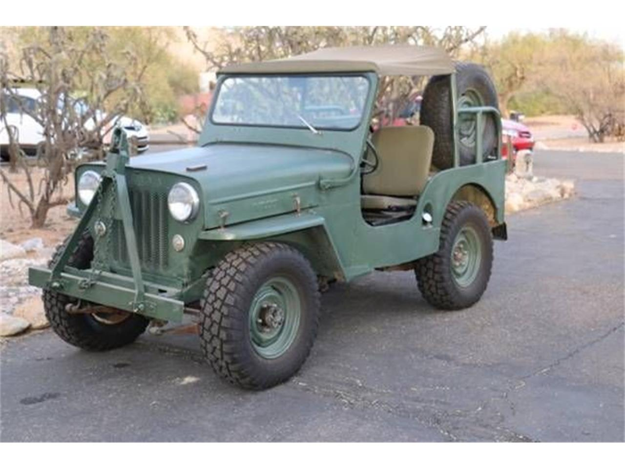 For Sale: 1953 Willys Jeep in Cadillac, Michigan