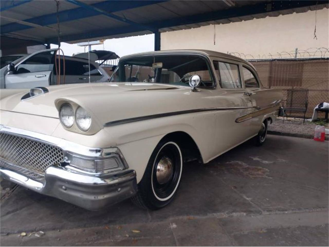 Large Picture of Classic '58 Ford Custom Offered by Classic Car Deals - PEFO