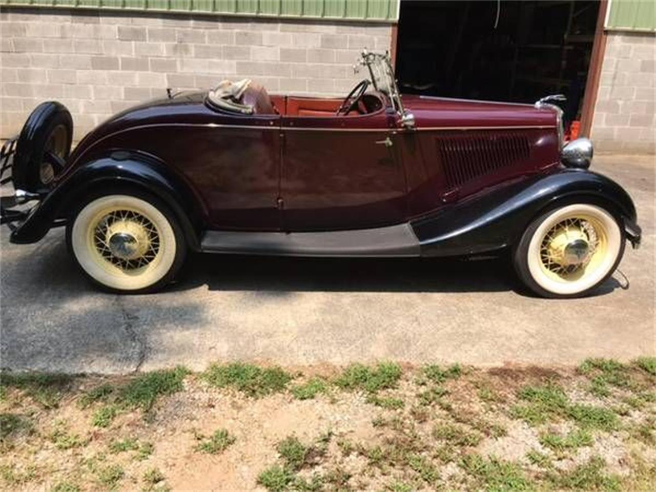Large Picture of '34 Roadster - PEGU