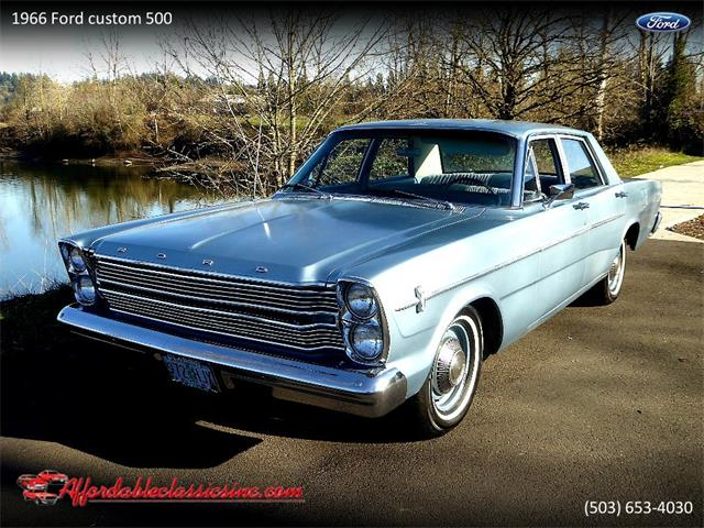 Picture of Classic 1966 Ford Custom 500 located in Gladstone Oregon - $3,950.00 Offered by  - PEJU
