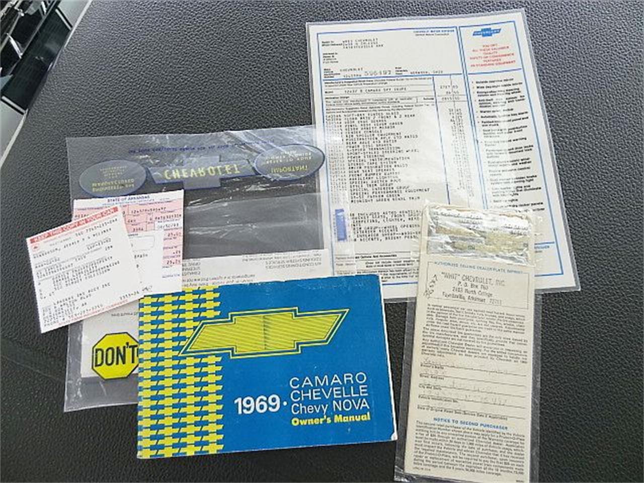 Large Picture of '69 Camaro Z28 - PEL7