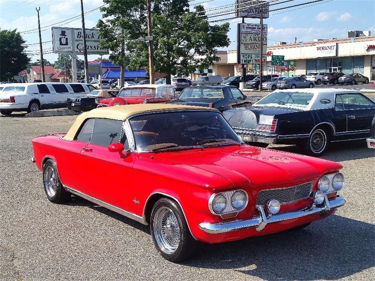 Large Picture of '64 Chevrolet Corvair Offered by Black Tie Classics - PENI
