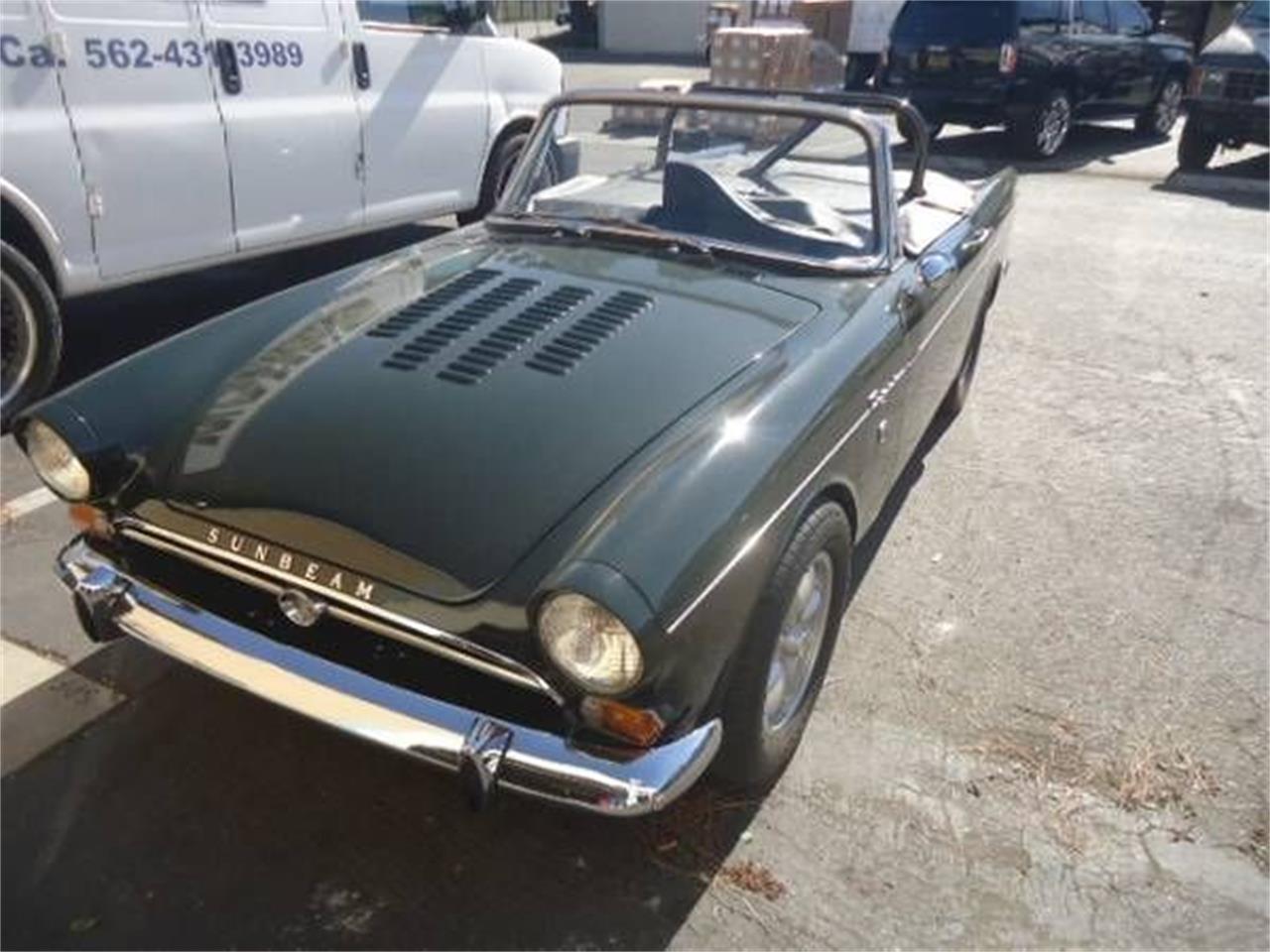 1965 Sunbeam Tiger For Sale Classiccars Com Cc 1185439