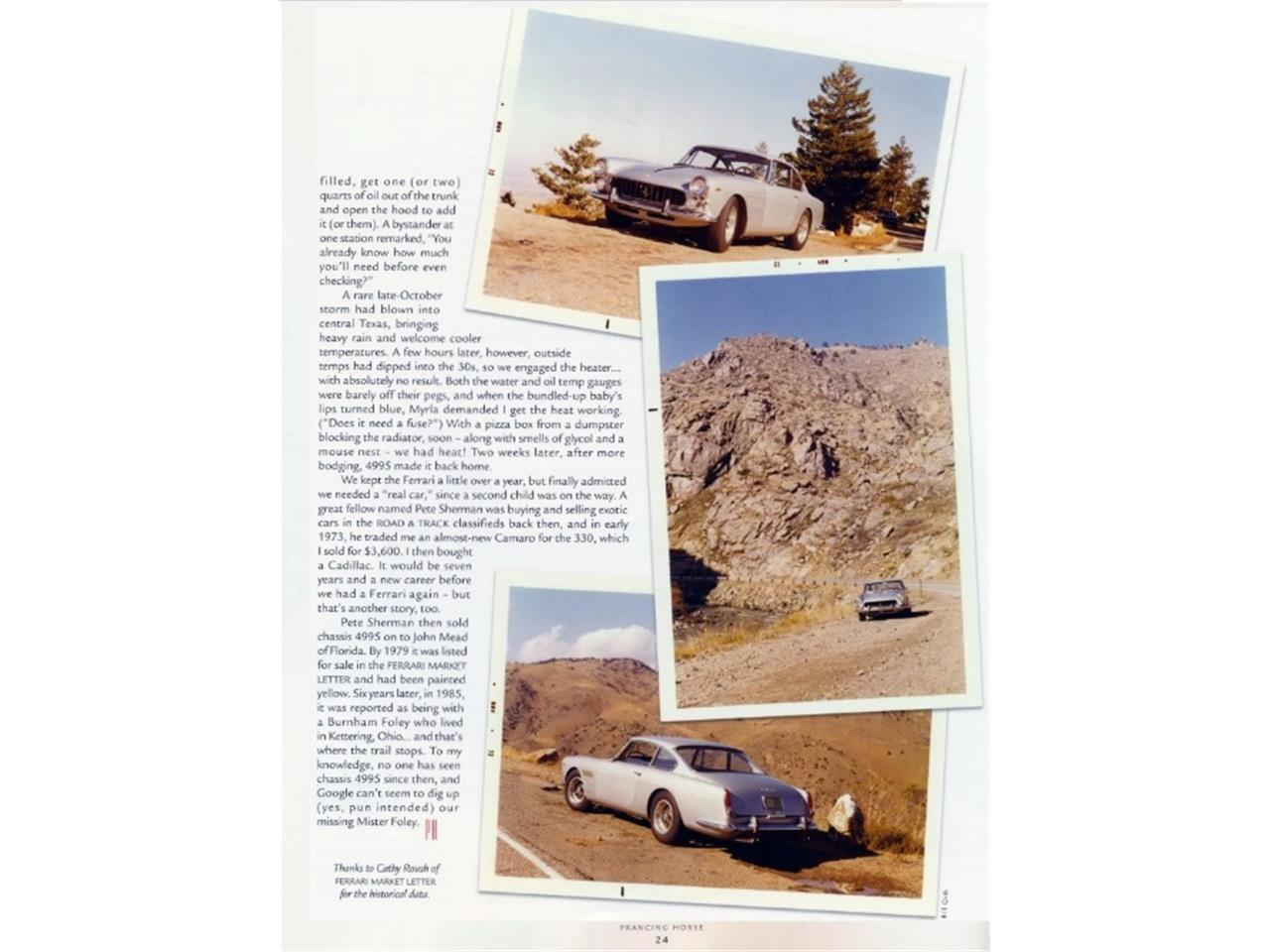 Large Picture of '64 330 GT - $349,500.00 - PEQO