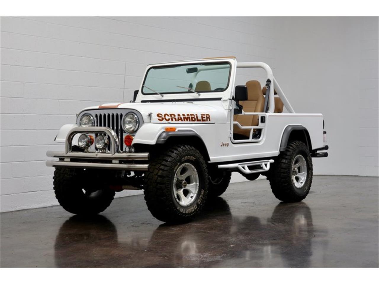 For Sale 1981 Jeep Cj8 Scrambler In Costa Mesa California