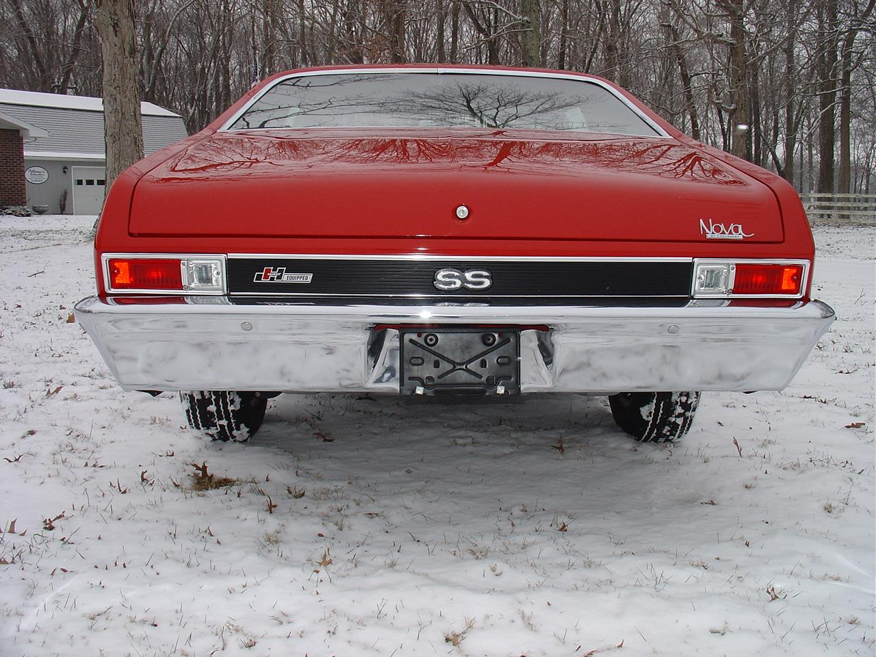 Large Picture of '69 Nova SS located in Indiana Offered by Patterson's Automotive LLC - PET8