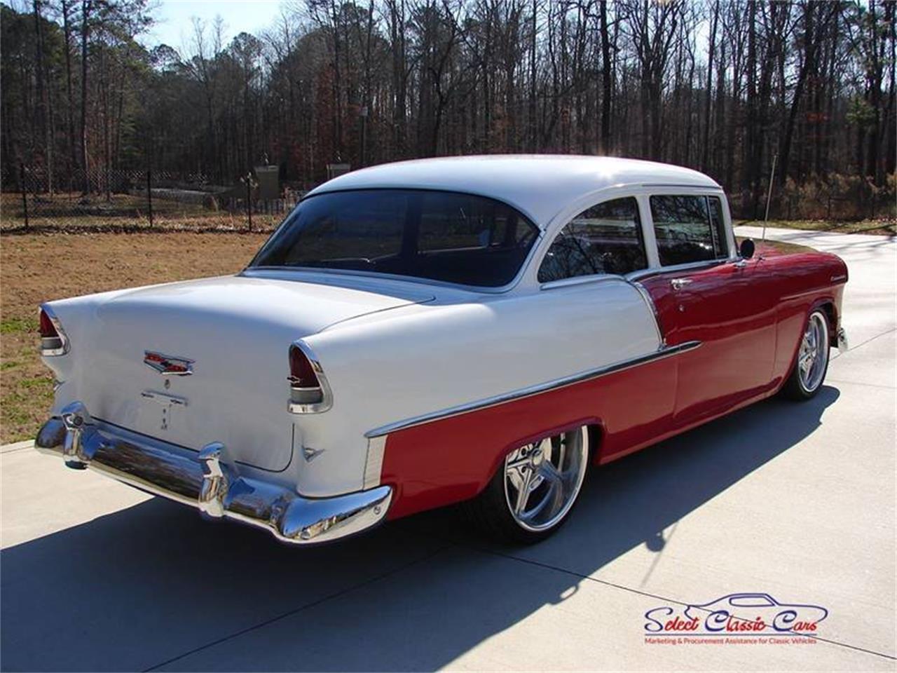Large Picture of Classic '55 Chevrolet Bel Air located in Hiram Georgia - PEYX