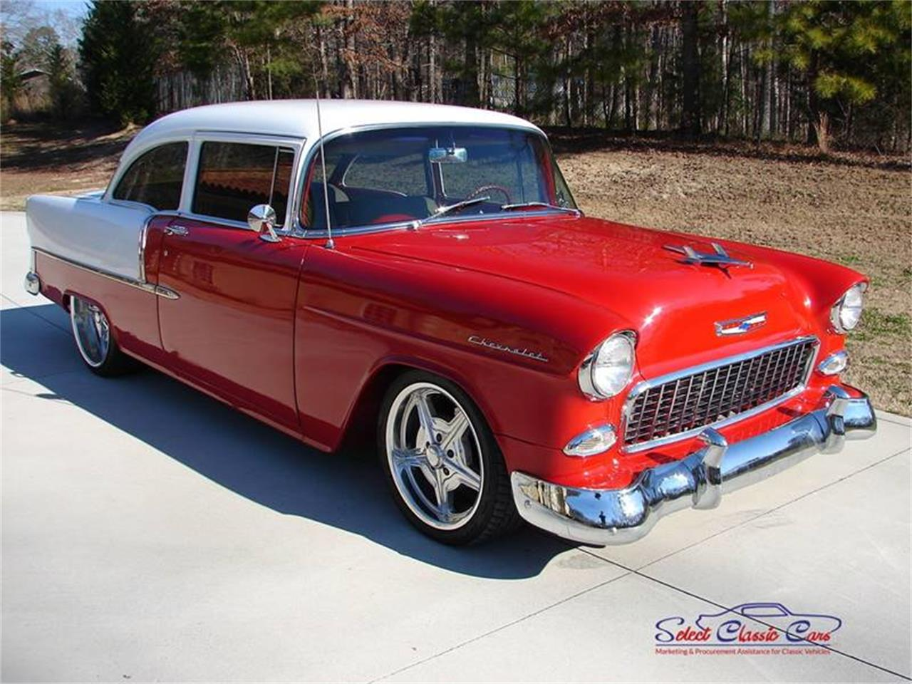 Large Picture of 1955 Chevrolet Bel Air located in Georgia - $46,500.00 Offered by Select Classic Cars - PEYX