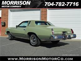 Picture of 1974 Monte Carlo located in North Carolina - $19,900.00 Offered by Morrison Motor Company - PEZN
