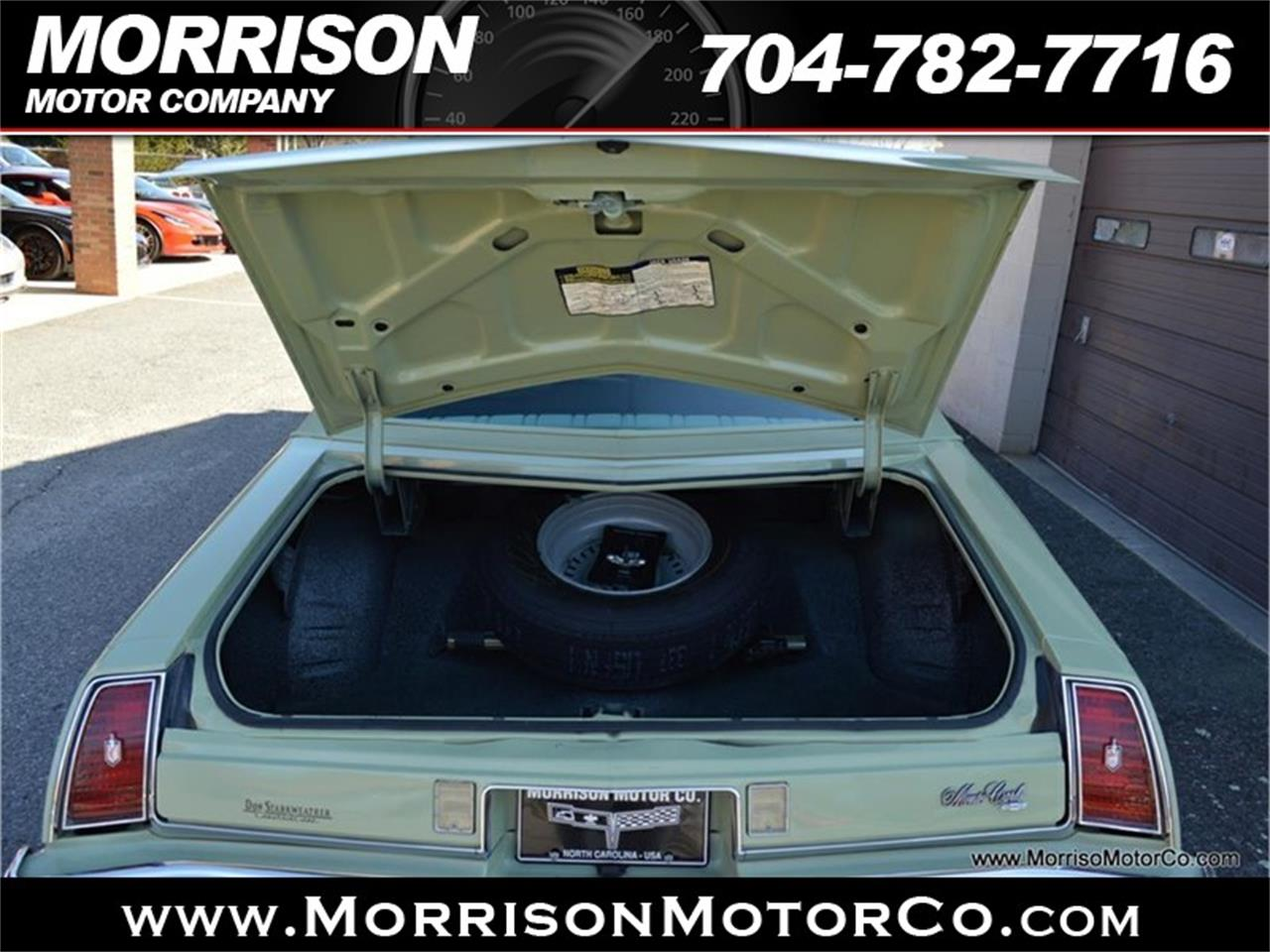 Large Picture of 1974 Monte Carlo Offered by Morrison Motor Company - PEZN