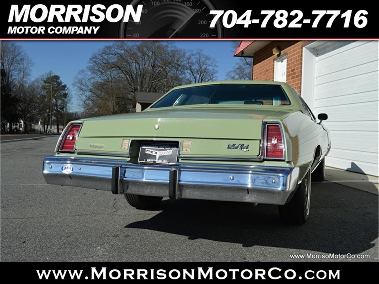 Large Picture of 1974 Chevrolet Monte Carlo located in Concord North Carolina - $19,900.00 Offered by Morrison Motor Company - PEZN
