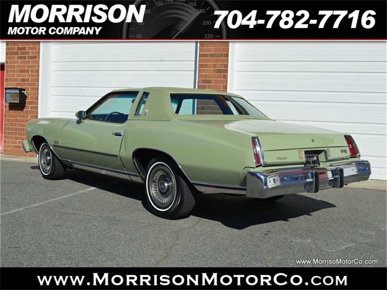 Large Picture of 1974 Chevrolet Monte Carlo - $19,900.00 Offered by Morrison Motor Company - PEZN