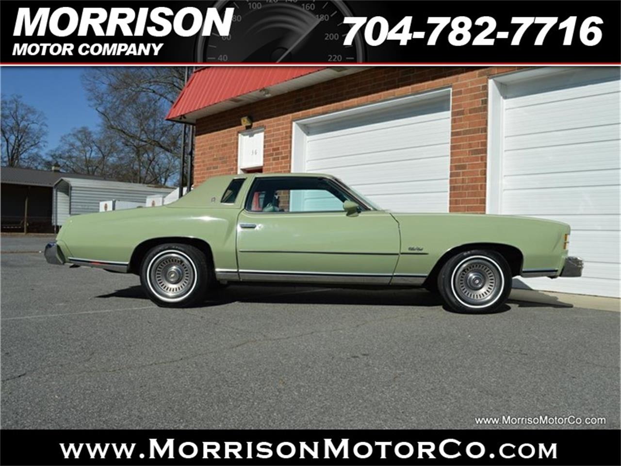 Large Picture of '74 Monte Carlo located in Concord North Carolina Offered by Morrison Motor Company - PEZN