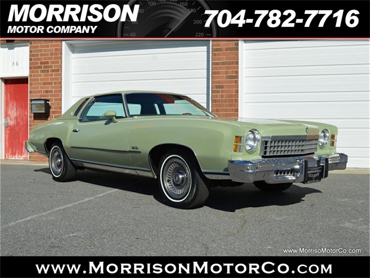 Large Picture of '74 Monte Carlo Offered by Morrison Motor Company - PEZN