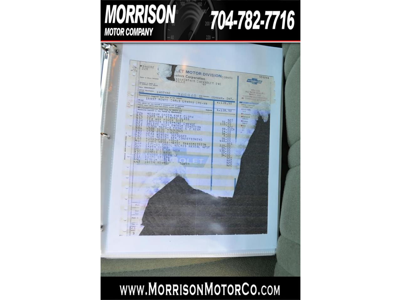 Large Picture of 1974 Monte Carlo located in Concord North Carolina - $19,900.00 Offered by Morrison Motor Company - PEZN