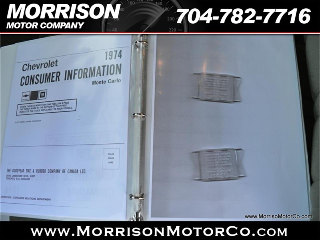 Large Picture of '74 Chevrolet Monte Carlo Offered by Morrison Motor Company - PEZN