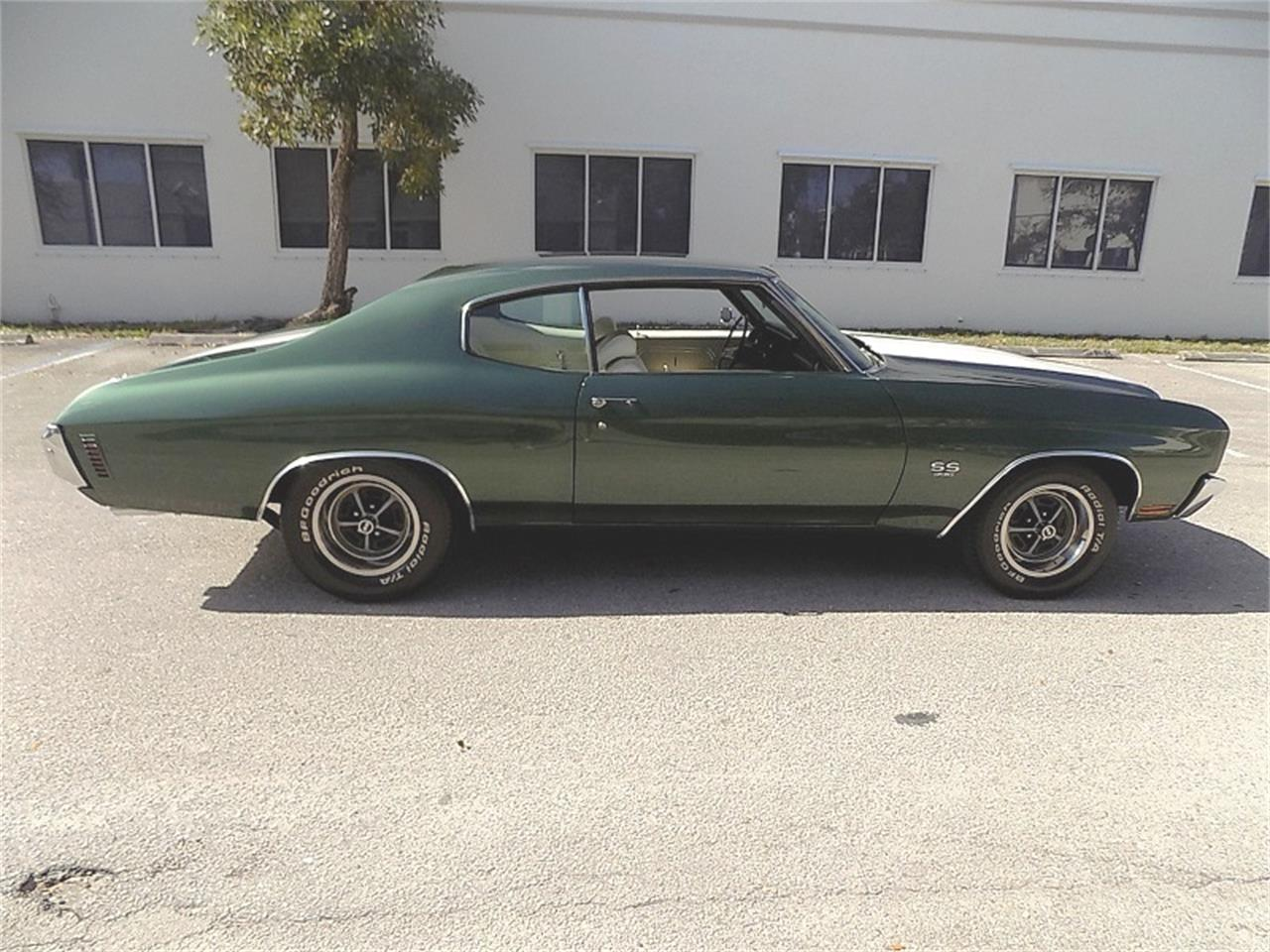 Large Picture of 1970 Chevrolet Chevelle SS located in Florida Offered by Cool Cars - PF2R