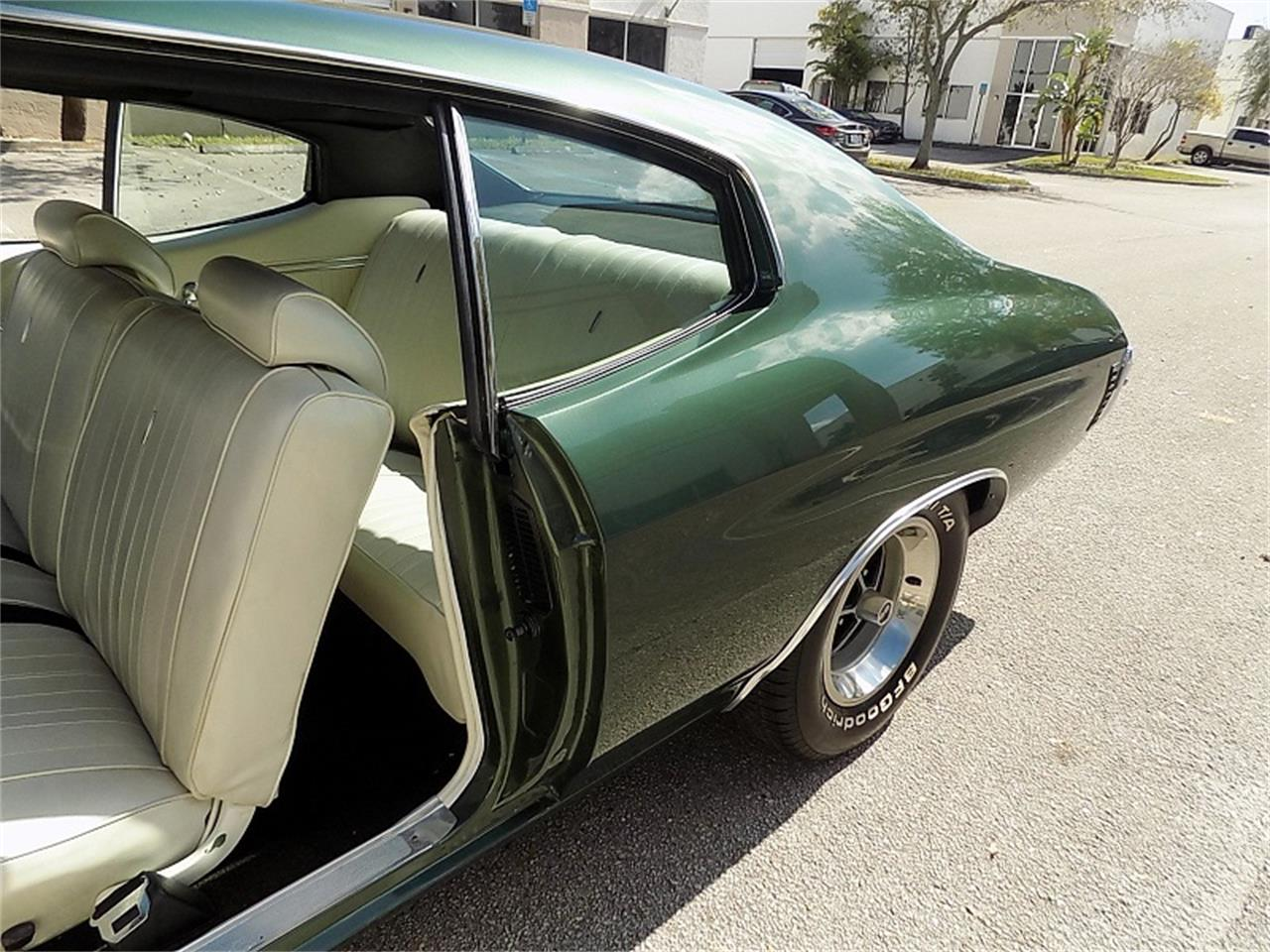 Large Picture of Classic '70 Chevelle SS located in POMPANO BEACH Florida - $38,500.00 - PF2R