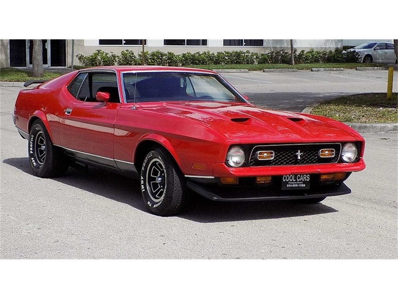 Ford Mustang 1972 Mach 1