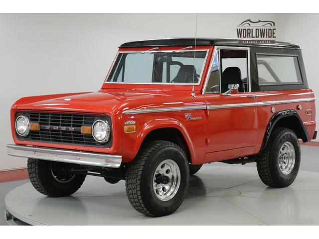 classic ford bronco for sale on. Black Bedroom Furniture Sets. Home Design Ideas