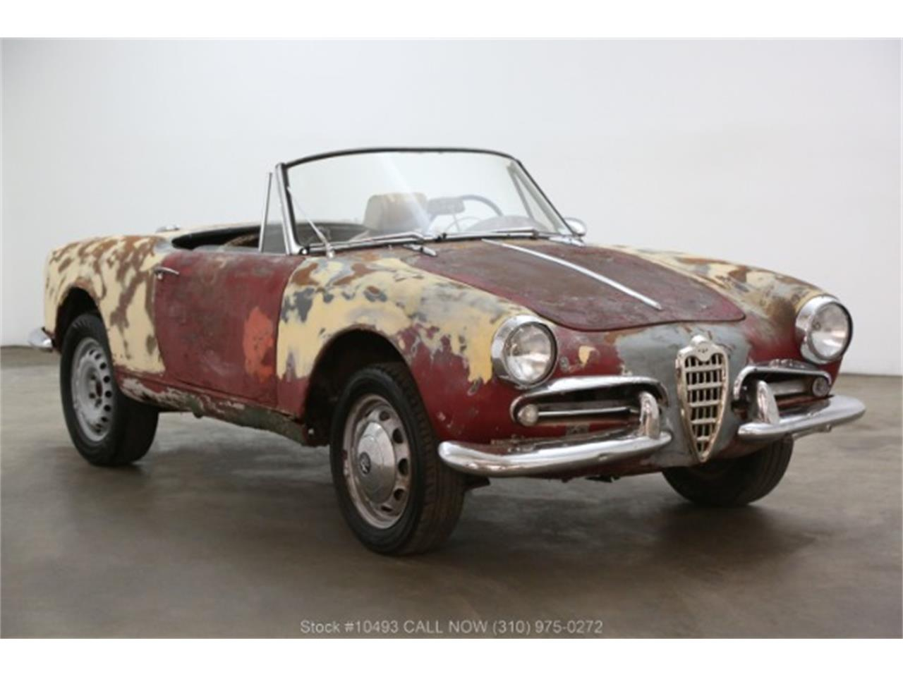 Large Picture of 1963 Giulietta Spider located in Beverly Hills California Offered by Beverly Hills Car Club - PF4C