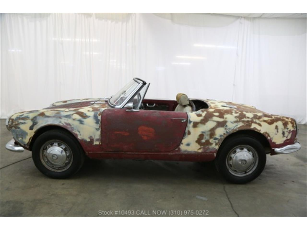 Large Picture of Classic '63 Alfa Romeo Giulietta Spider located in Beverly Hills California - $16,750.00 - PF4C