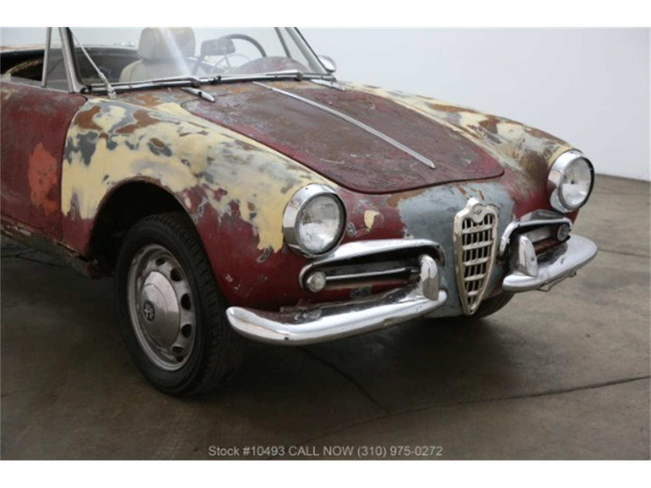 Large Picture of Classic 1963 Giulietta Spider located in Beverly Hills California - $16,750.00 - PF4C