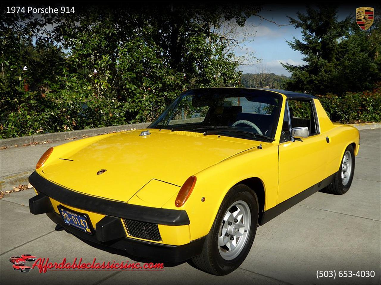 Large Picture of '74 Porsche 914 located in Oregon Offered by Affordable Classics Inc - PF8L
