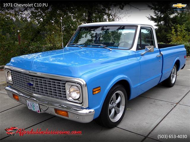 Picture of '71 Chevrolet C10 - $21,500.00 Offered by  - PF8N