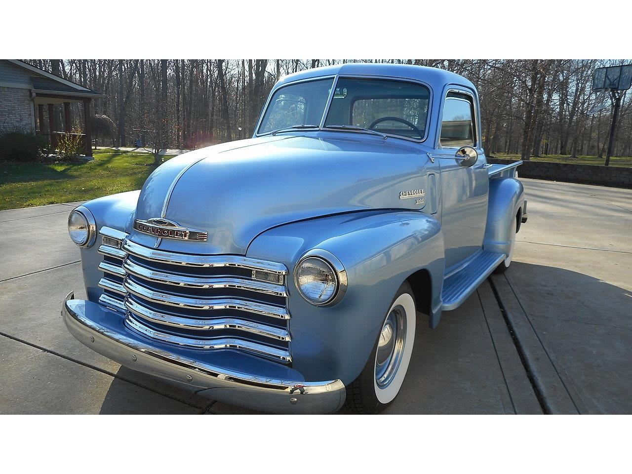 For Sale 1949 Chevrolet 3100 In Canal Fulton Ohio