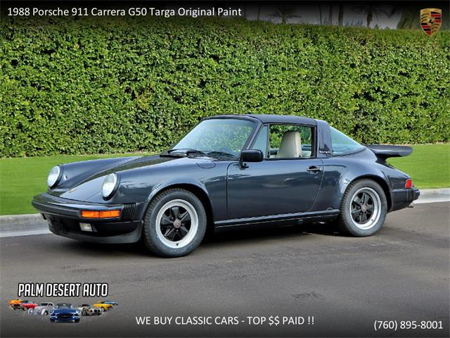 Picture of 1988 Porsche 911 located in Palm Desert  California Offered by  - PFEV